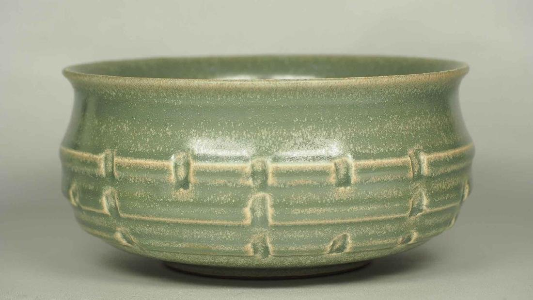 Longquan Washer with Molded Trigram, Southern Song - 2