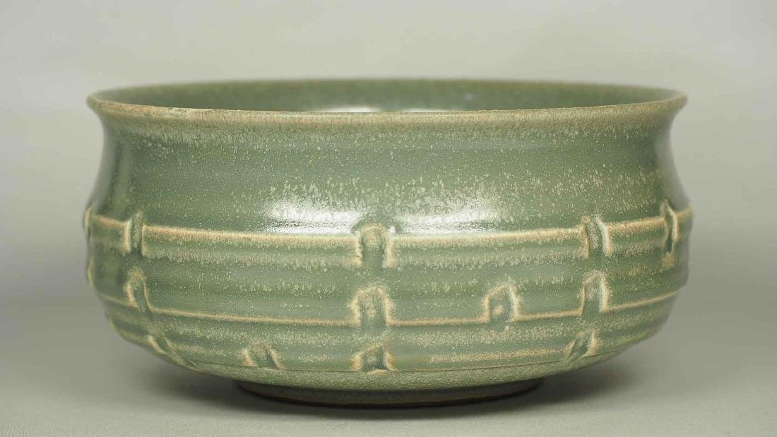 Longquan Washer with Molded Trigram, Southern Song - 3