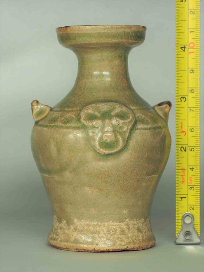 Yue Celadon Hu-form Water Pot, Eastern Jin Dynasty - 10
