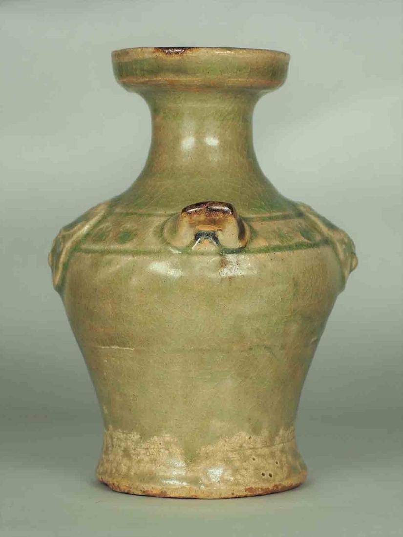 Yue Celadon Hu-form Water Pot, Eastern Jin Dynasty - 4