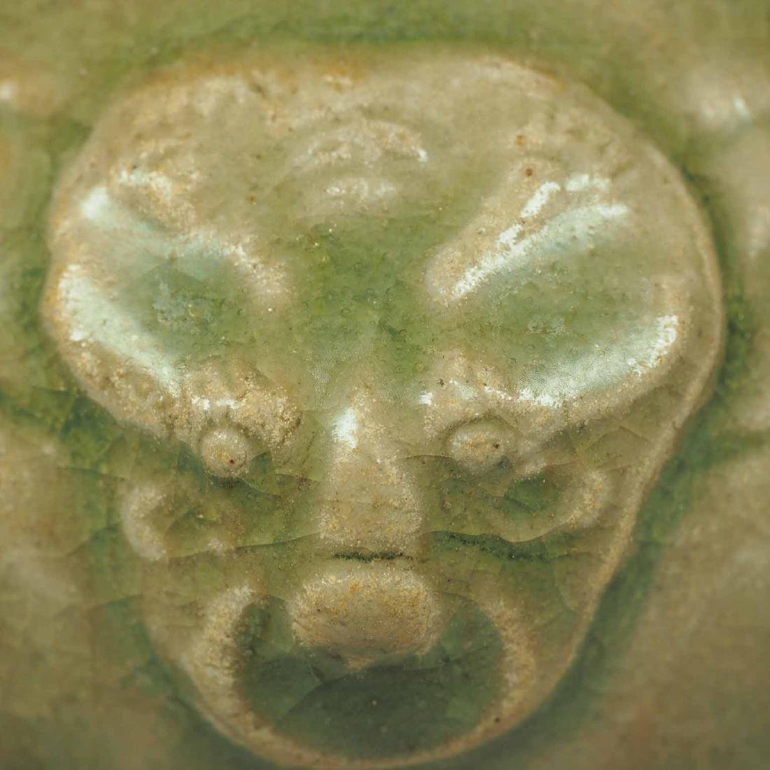Yue Celadon Hu-form Water Pot, Eastern Jin Dynasty - 6