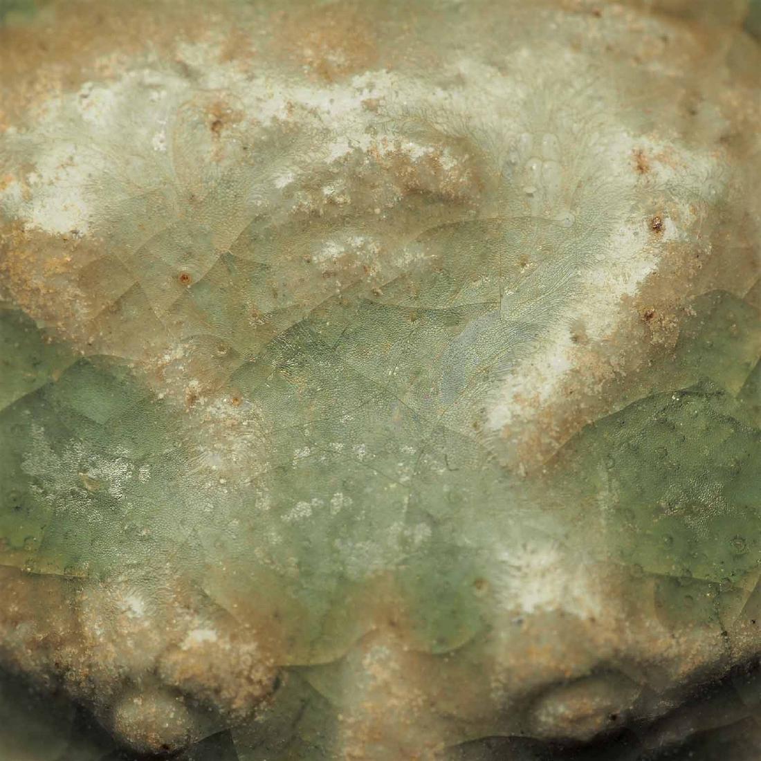 Yue Celadon Hu-form Water Pot, Eastern Jin Dynasty - 7