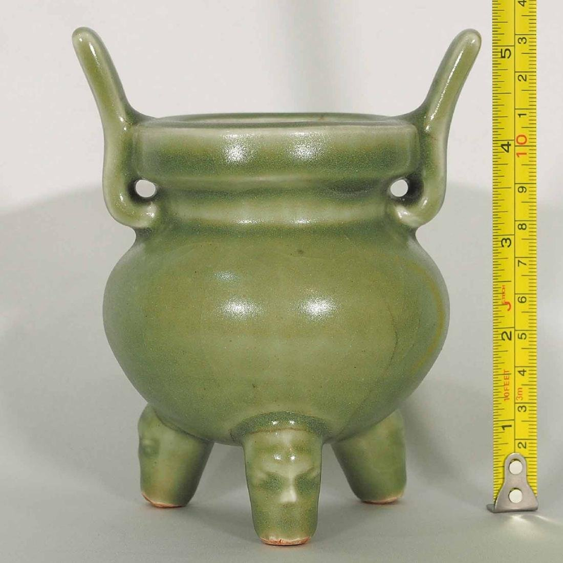 Longquan Tripod Censer, early Ming Dynasty - 10