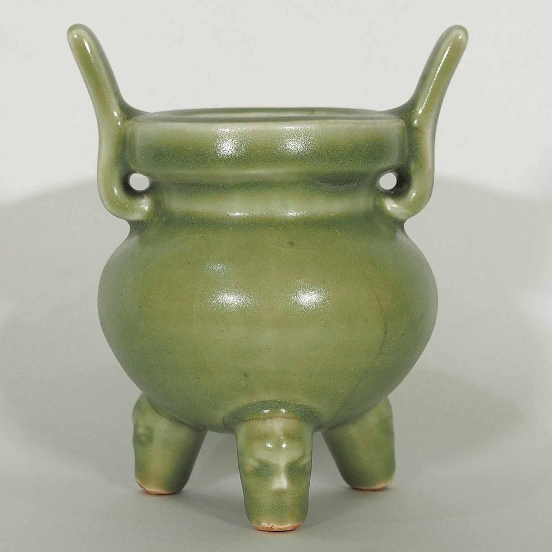 Longquan Tripod Censer, early Ming Dynasty
