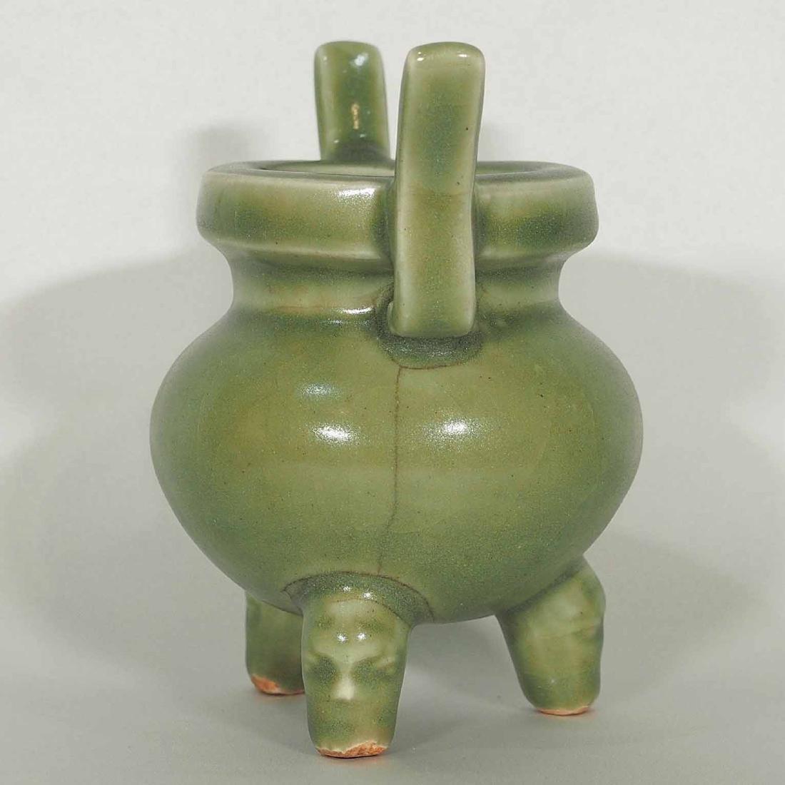 Longquan Tripod Censer, early Ming Dynasty - 3