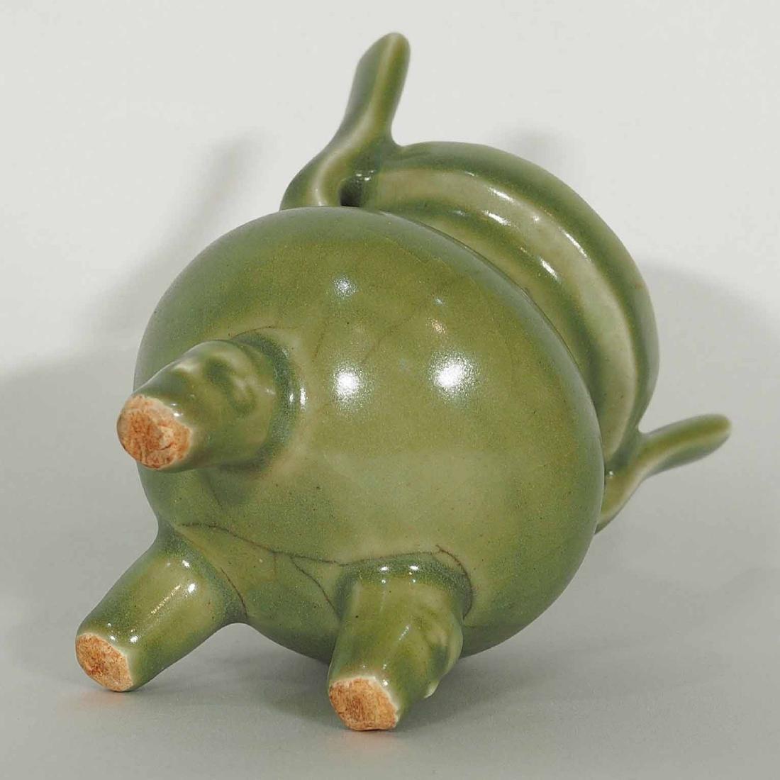 Longquan Tripod Censer, early Ming Dynasty - 7