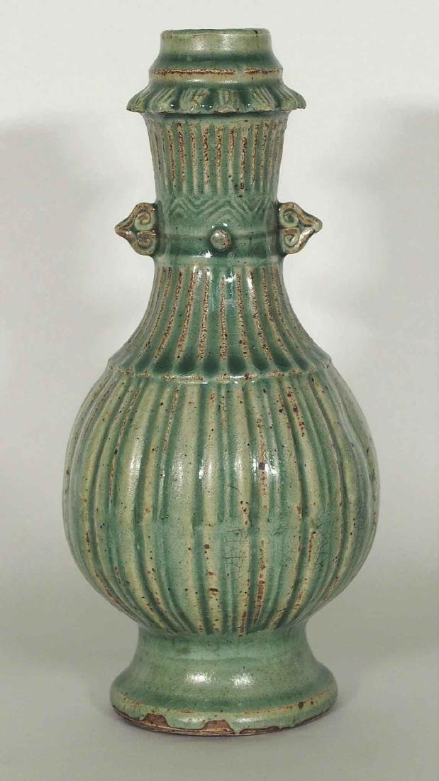 Longquan Fluted Vase, Southern Song Dynasty - 2