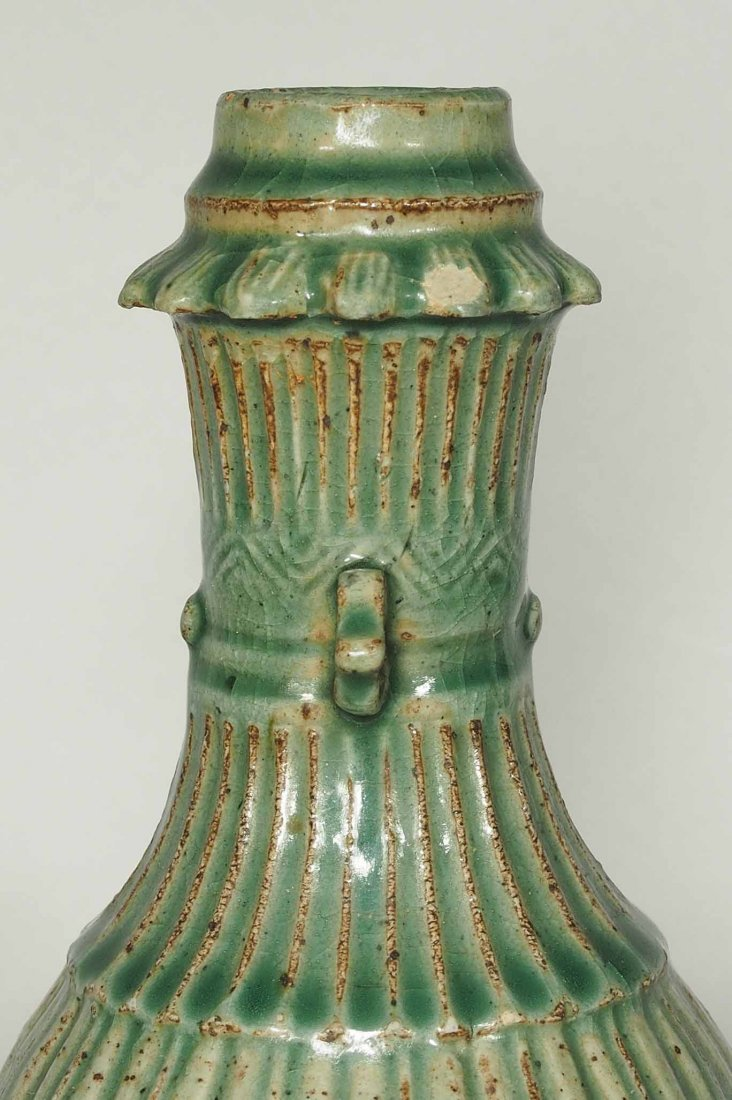 Longquan Fluted Vase, Southern Song Dynasty - 6