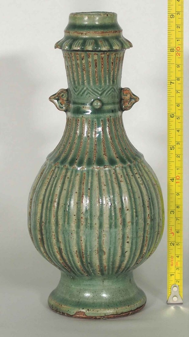 Longquan Fluted Vase, Southern Song Dynasty - 8