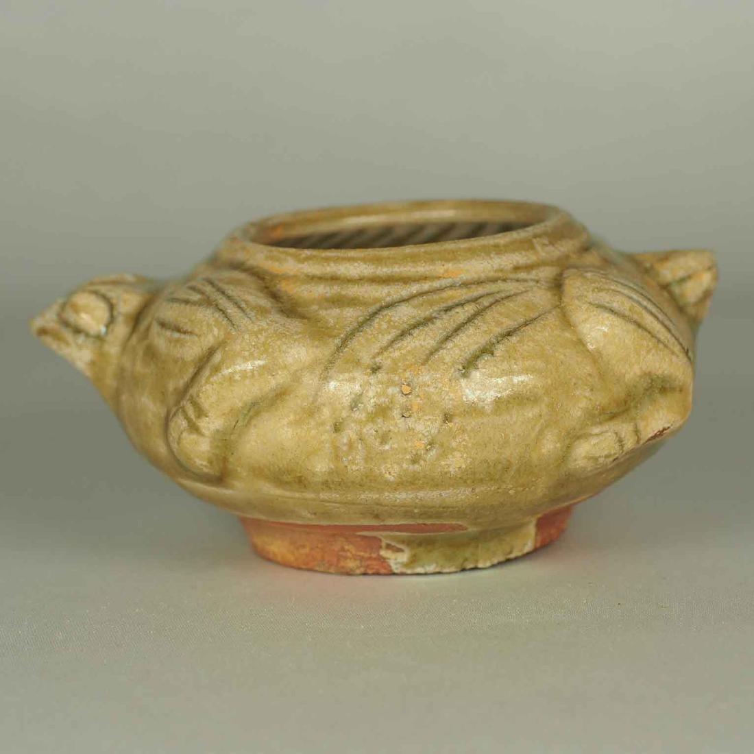 Yue Turtle-Form Water Pot. Western Jin Dynasty - 3