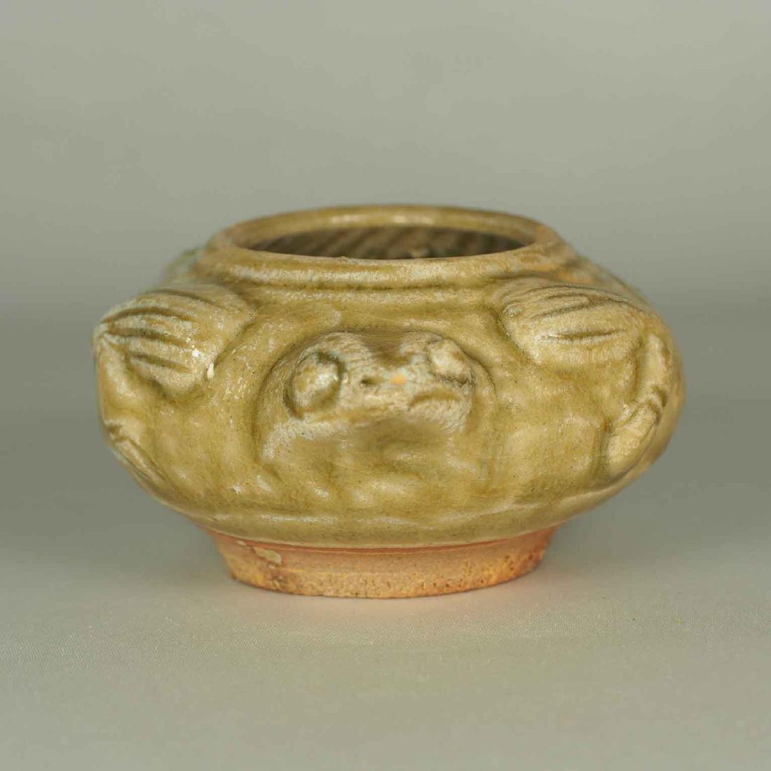 Yue Turtle-Form Water Pot. Western Jin Dynasty - 4