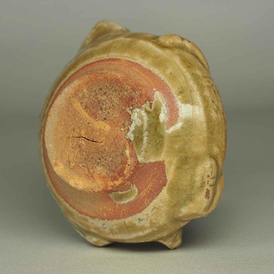 Yue Turtle-Form Water Pot. Western Jin Dynasty - 9