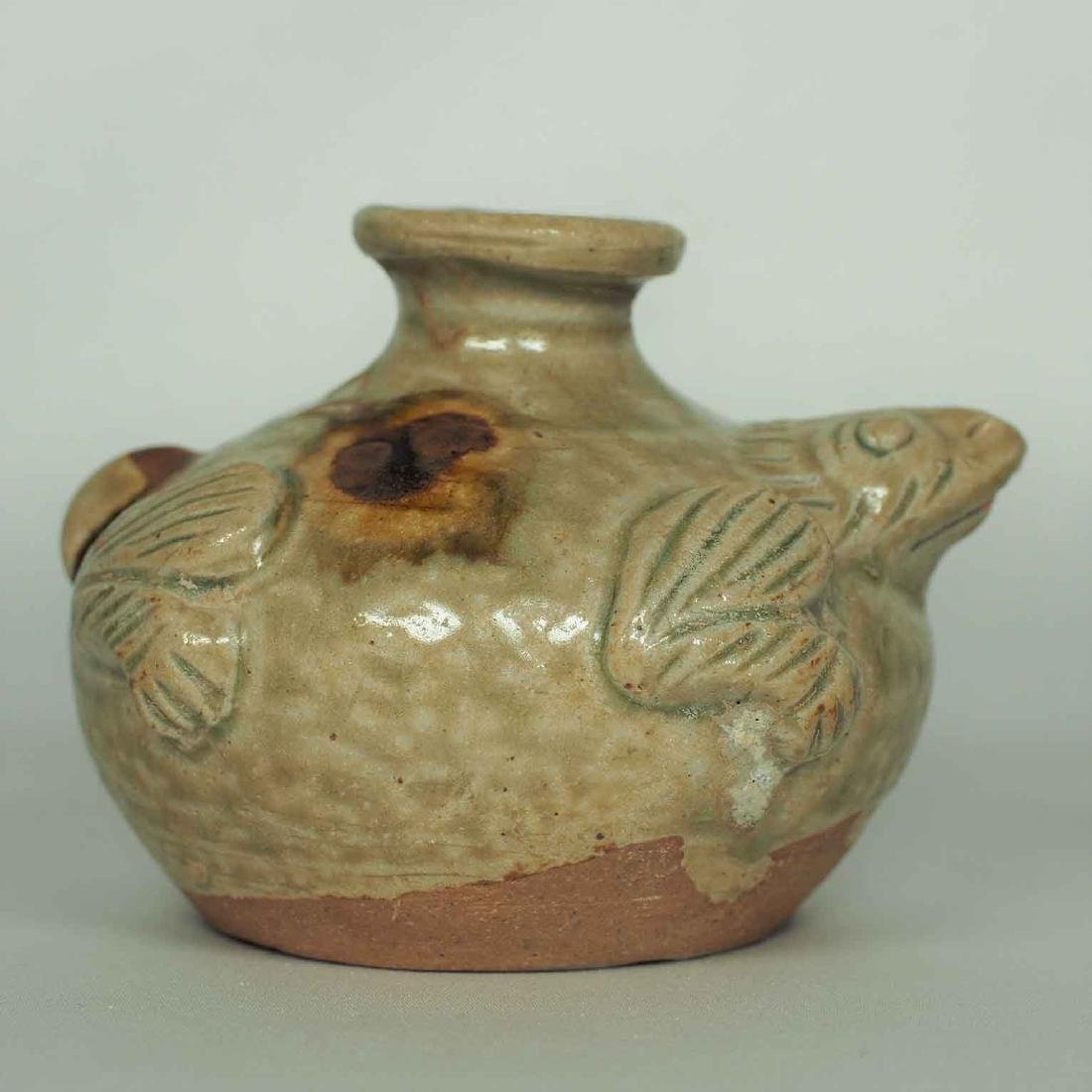 Yue Turtle-form Water Pot, Eastern Jin Dynasty - 2