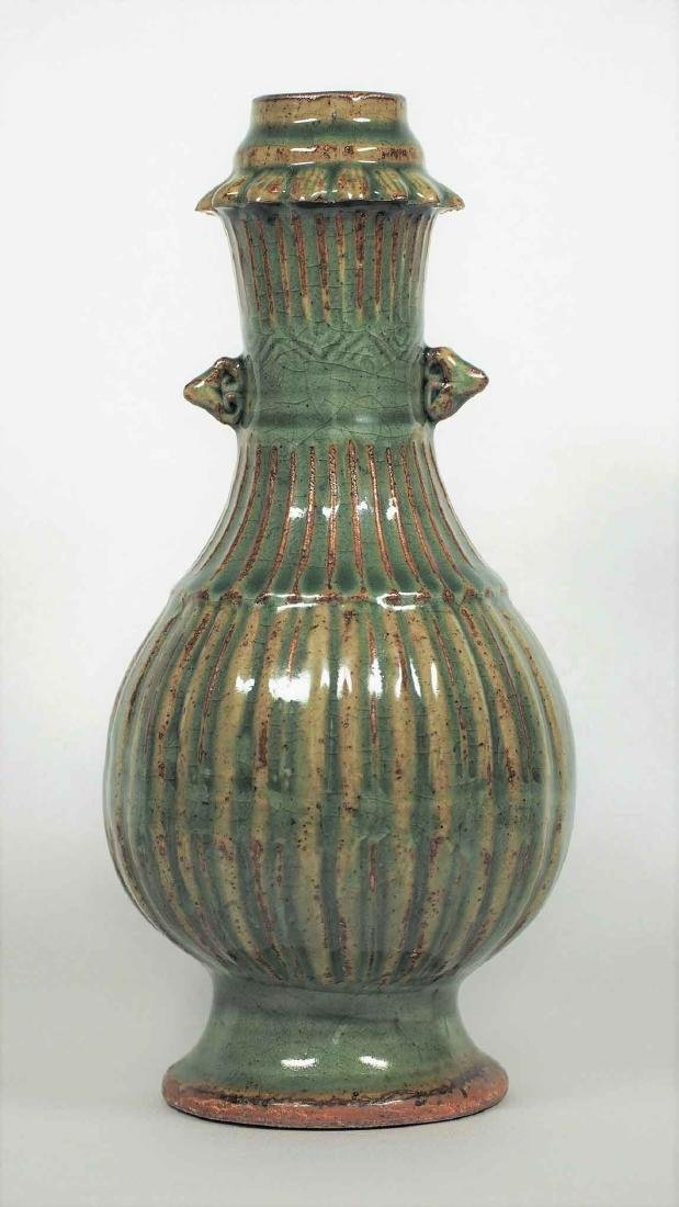 Longquan Fluted Vase, Southern Song Dynasty