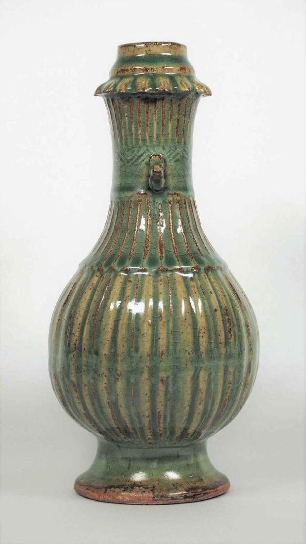 Longquan Fluted Vase, Southern Song Dynasty - 3