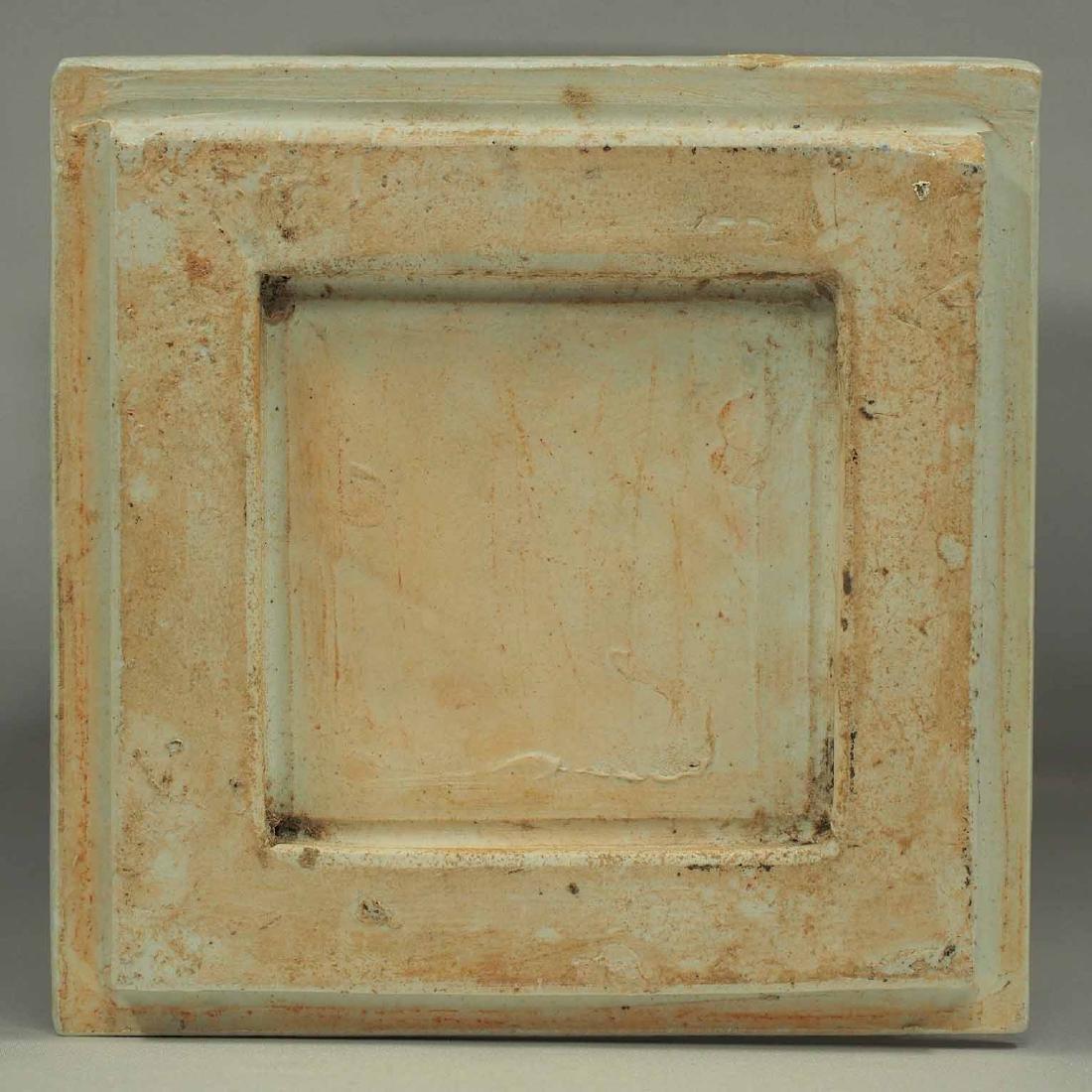 Square Gu-Form Vase, Tongzhi Period, Qing Dynasty - 11