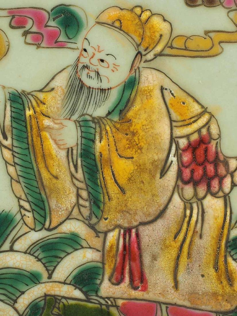 Square Gu-Form Vase, Tongzhi Period, Qing Dynasty - 5