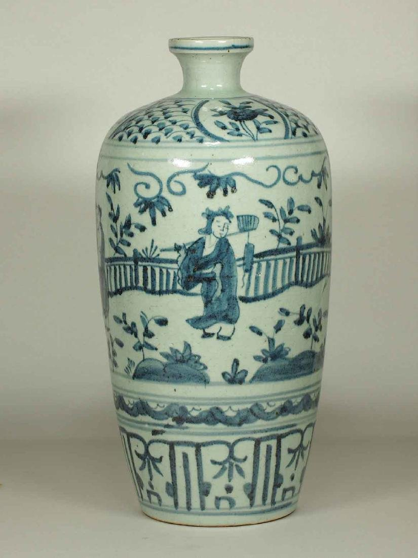 Large Meiping with Narrative, Wanli Period, Ming
