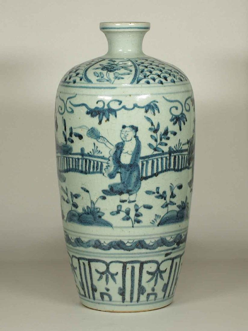 Large Meiping with Narrative, Wanli Period, Ming - 2