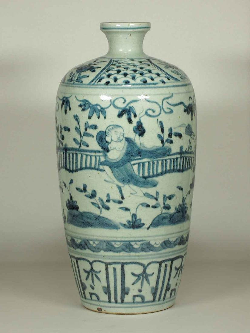 Large Meiping with Narrative, Wanli Period, Ming - 3