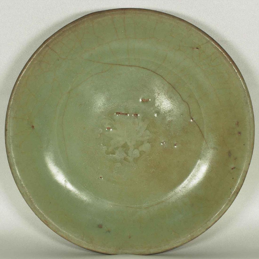 Longquan Plate, Yuan Dynasty
