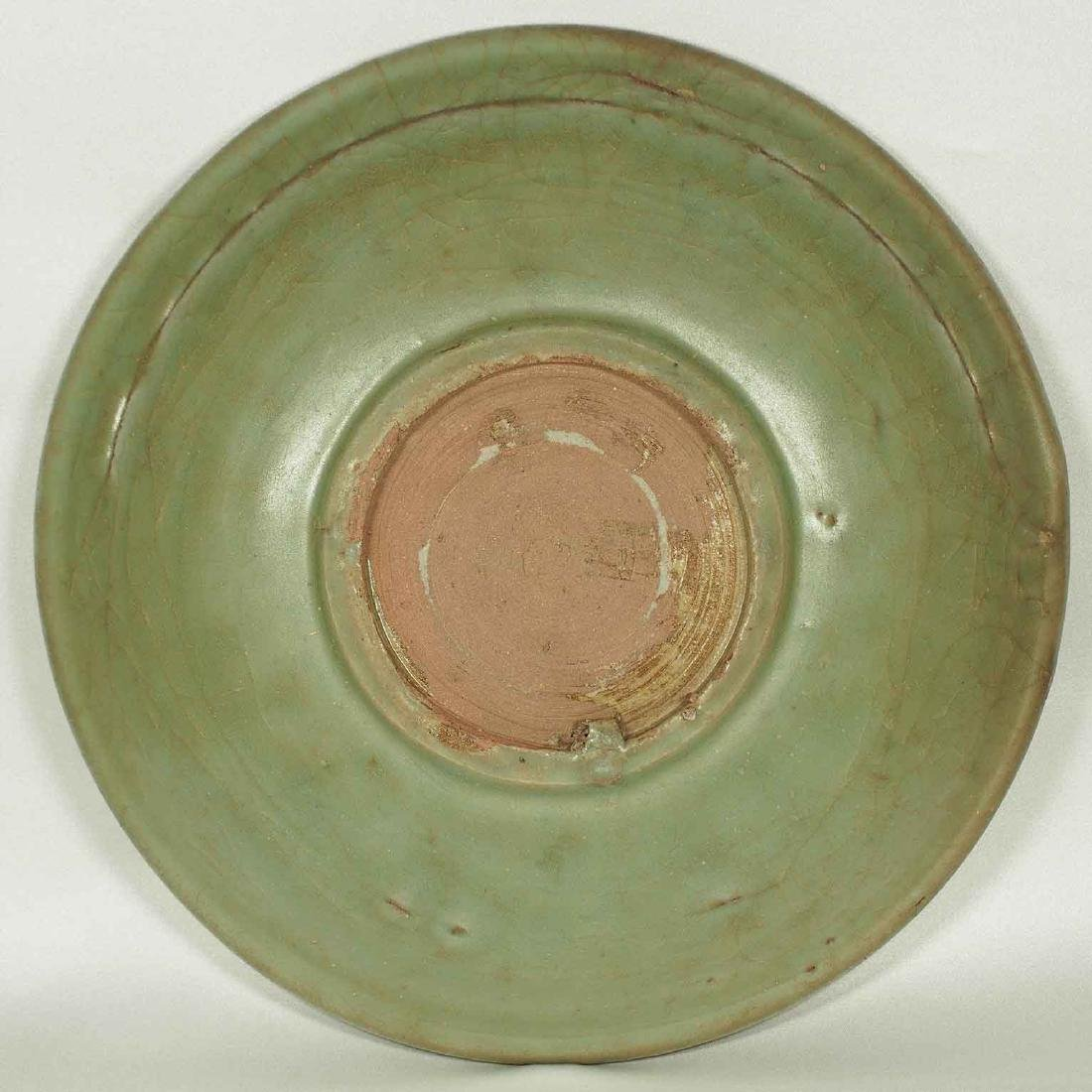 Longquan Plate, Yuan Dynasty - 5