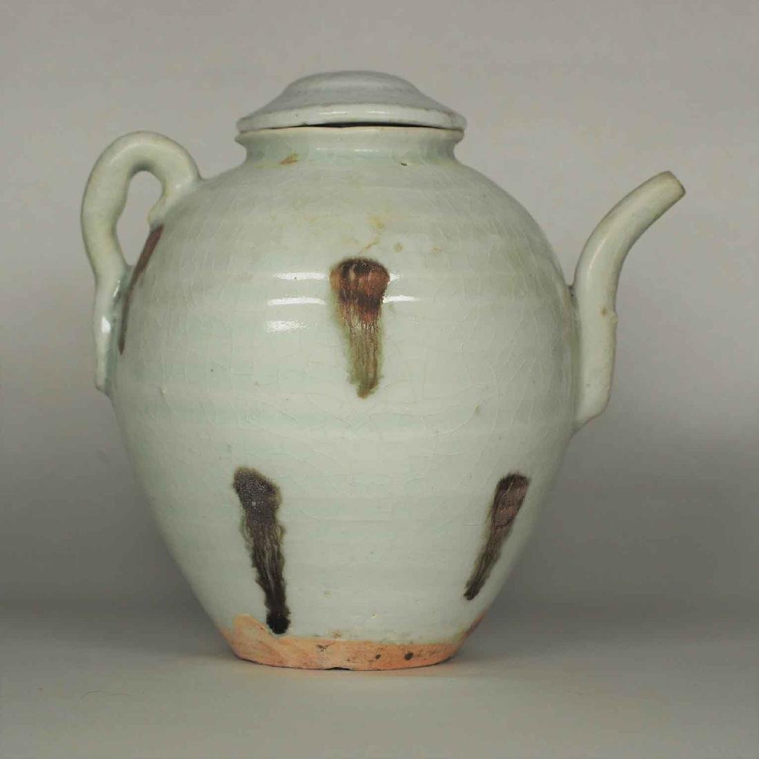 Ewer with Brown Spot, Yuan Dynasty