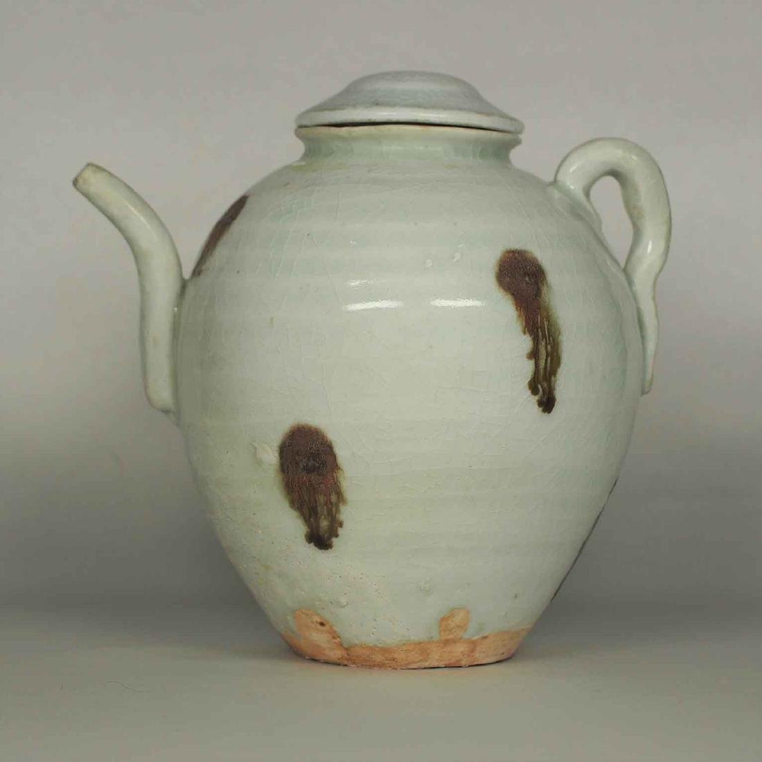 Ewer with Brown Spot, Yuan Dynasty - 3