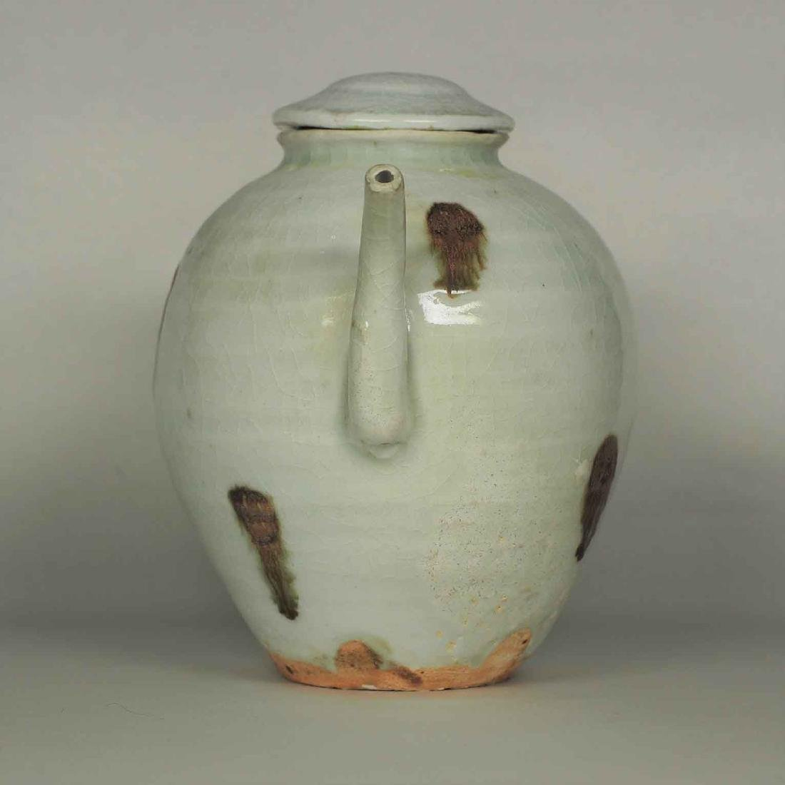 Ewer with Brown Spot, Yuan Dynasty - 4