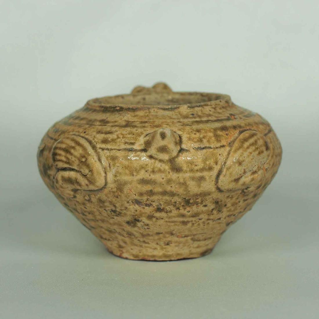 Proto-Porcelain Turtle-Form Water Pot, Han Dynasty - 4