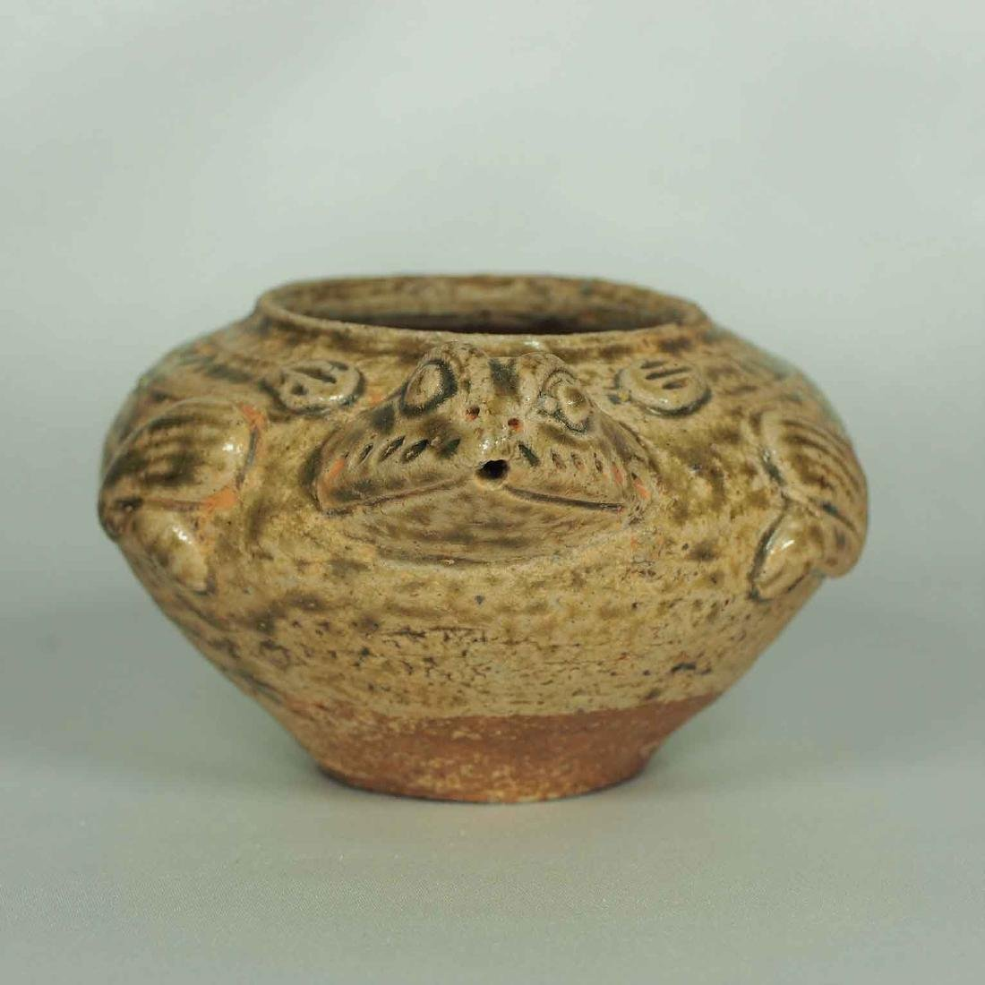 Proto-Porcelain Turtle-Form Water Pot, Han Dynasty - 5
