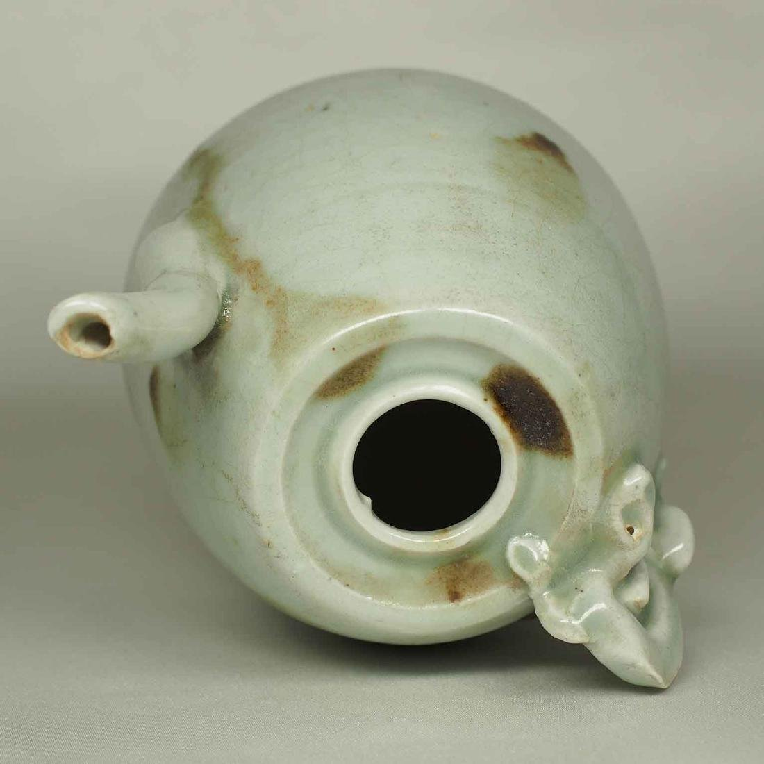 Ewer with Dragon Handle and Brown Spots, Yuan-early - 10