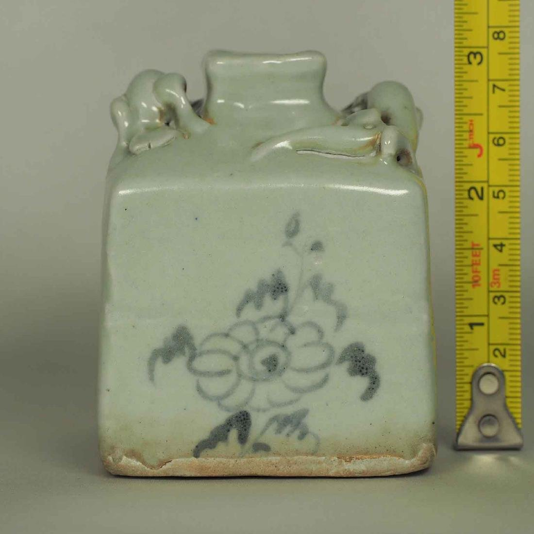 Square Jarlet with Two Dragons, Yuan Dynasty - 8