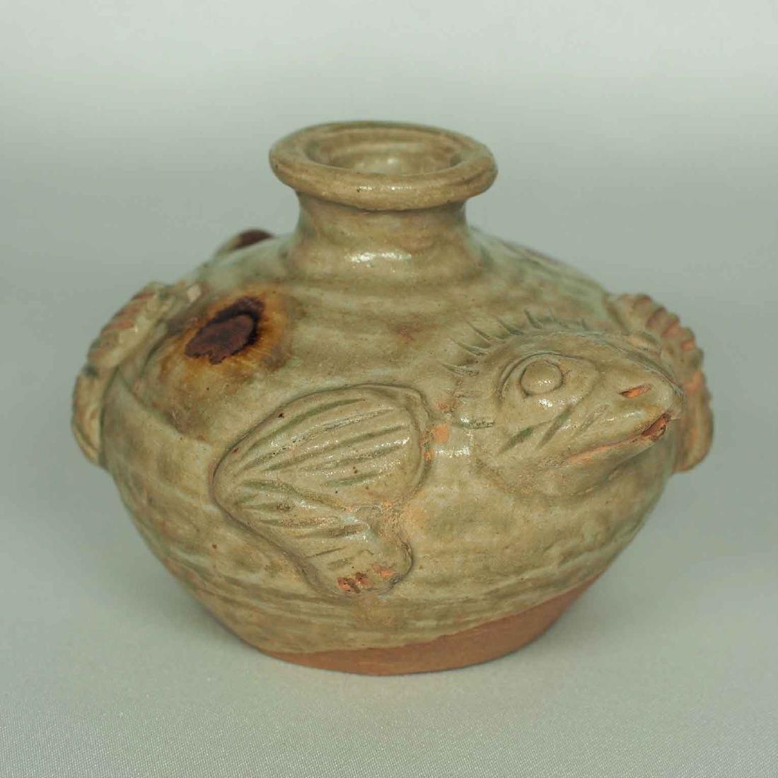 Yue Turtle-form Water Pot, Eastern Jin Dynasty