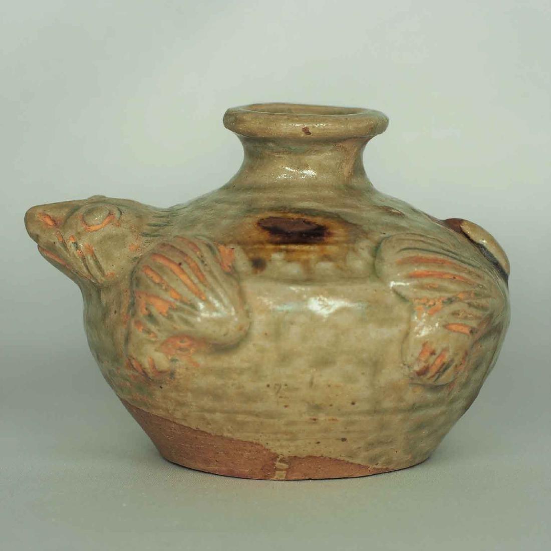 Yue Turtle-form Water Pot, Eastern Jin Dynasty - 3