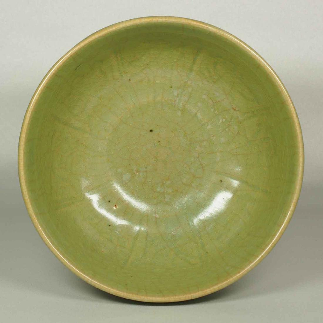 Longquan Bowl with Eight Immortals Design, Ming Dynasty