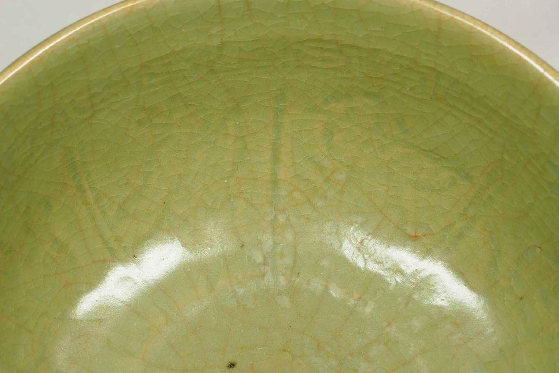 Longquan Bowl with Eight Immortals Design, Ming Dynasty - 5