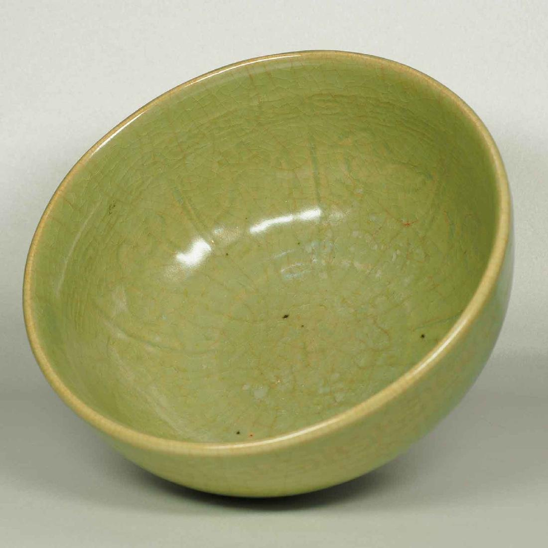 Longquan Bowl with Eight Immortals Design, Ming Dynasty - 6