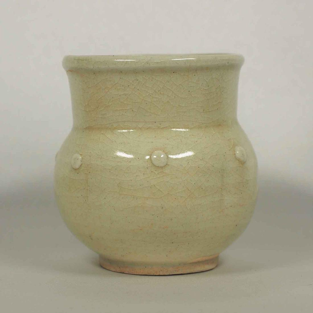 Qingbai Rice Measuring Jar, Northern Song dynasty