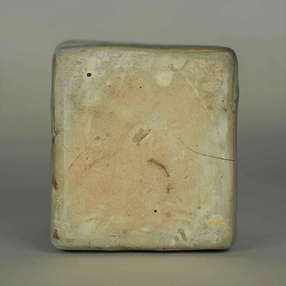 Square Jarlet with Two Dotted Dragons, Yuan Dynasty - 10