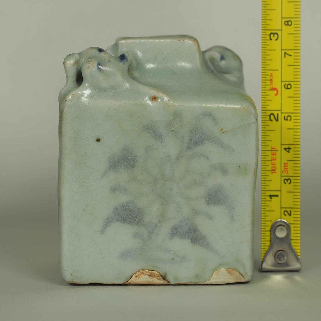 Square Jarlet with Two Dotted Dragons, Yuan Dynasty - 11