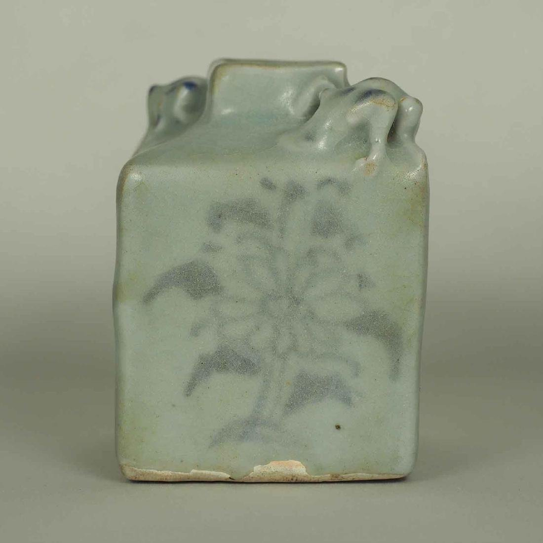 Square Jarlet with Two Dotted Dragons, Yuan Dynasty - 2