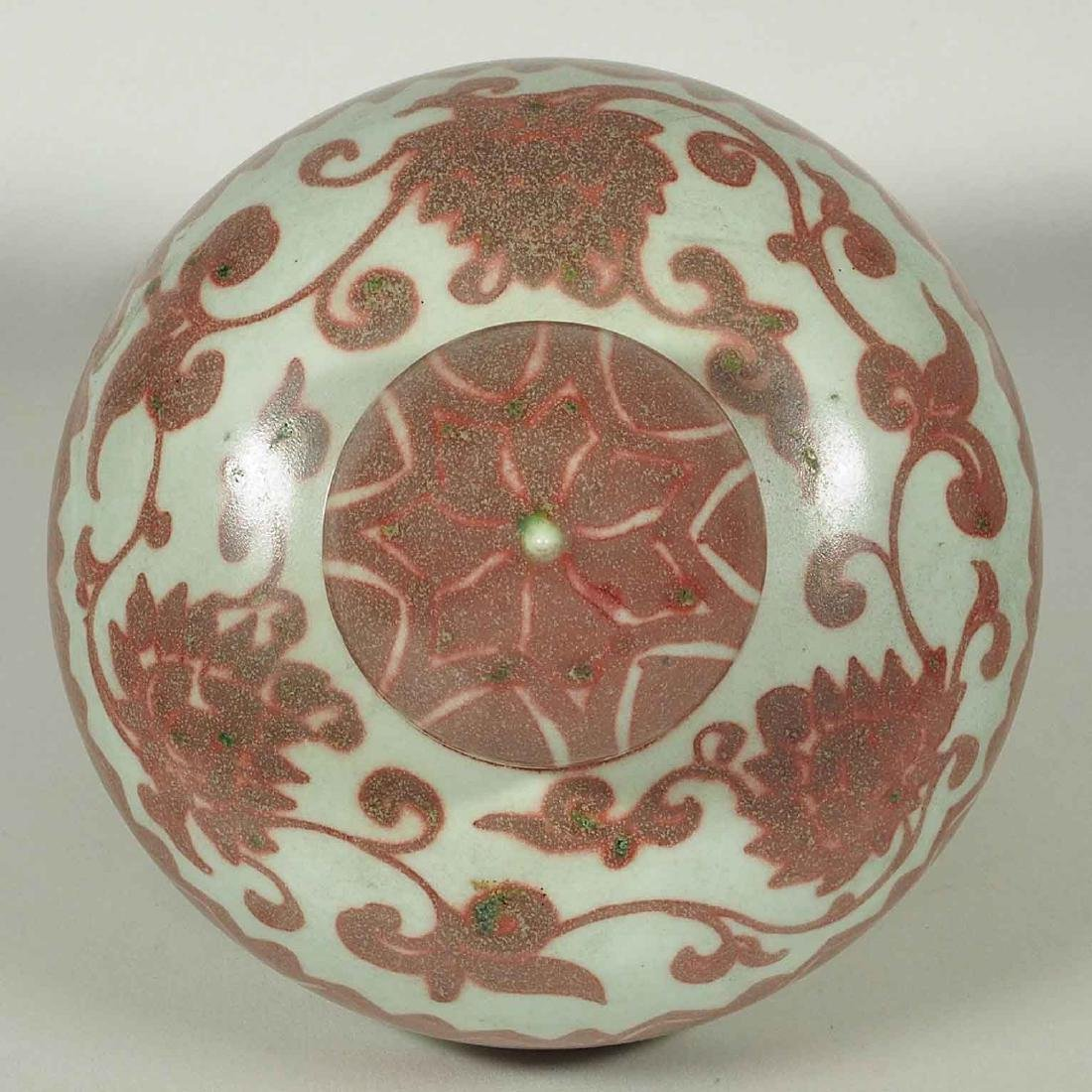 Gigantic Double Gourd Jar with Dragons, Xuande Mark, - 8