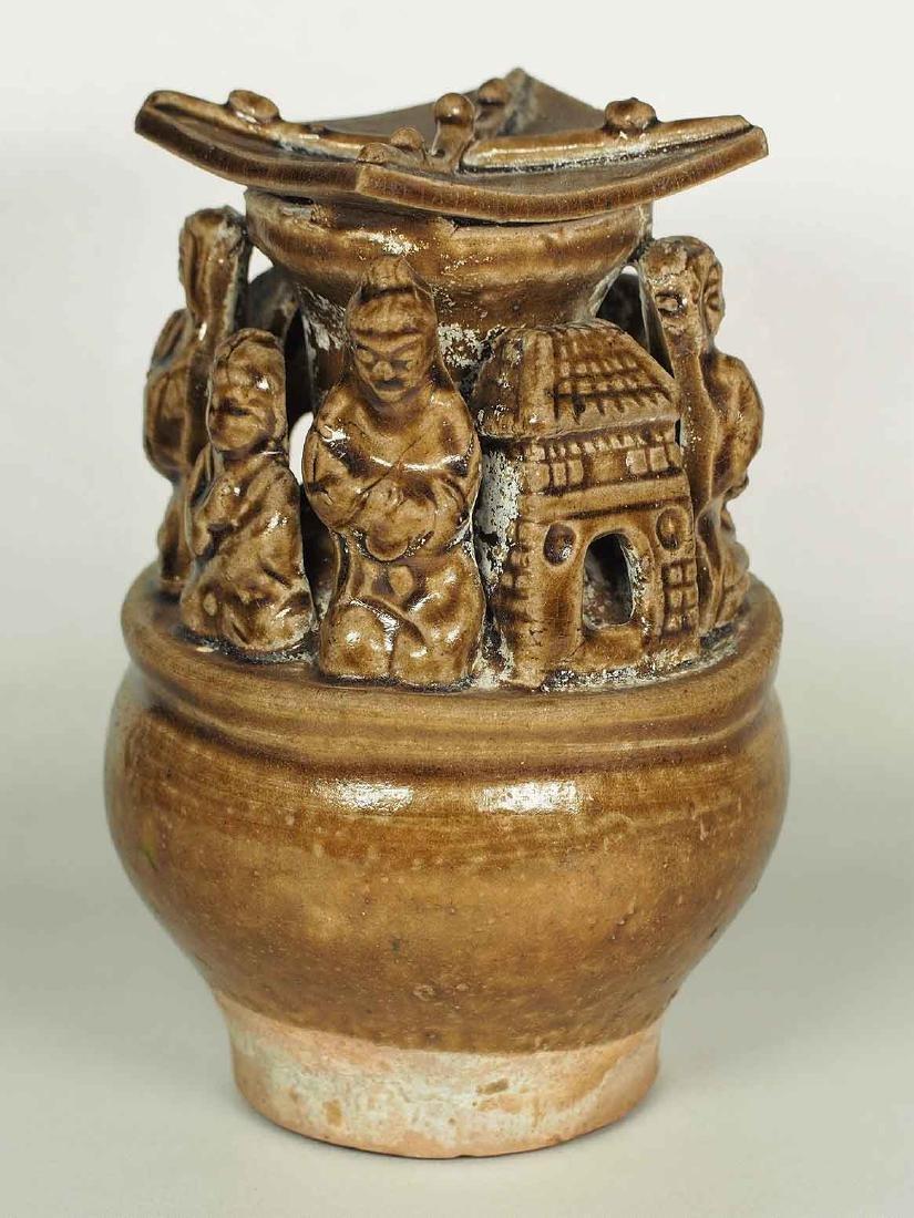 Yue Hunping Funerary Urn, Jin Dynasty