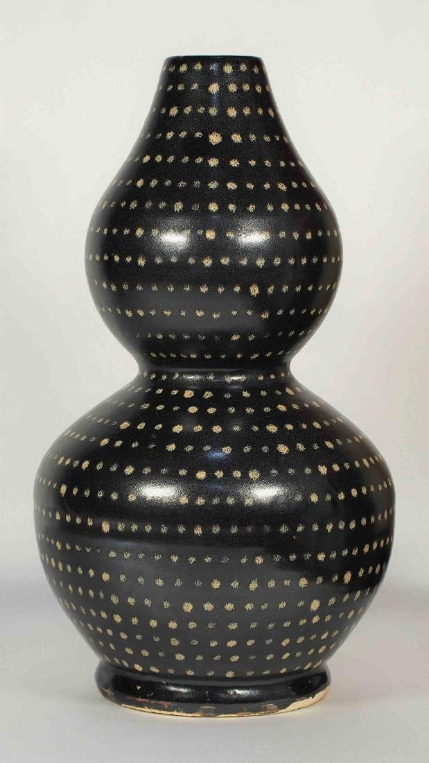 Jizhou Large Double-Gourd with Dotted Design, Song