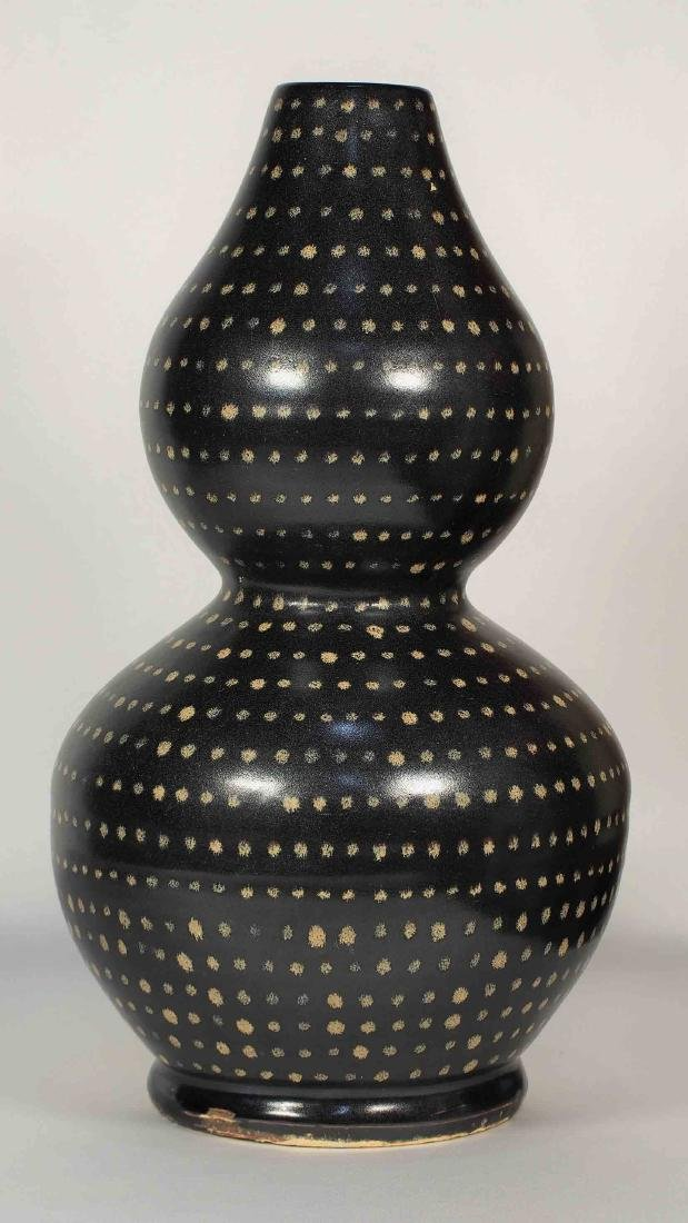 Jizhou Large Double-Gourd with Dotted Design, Song - 2