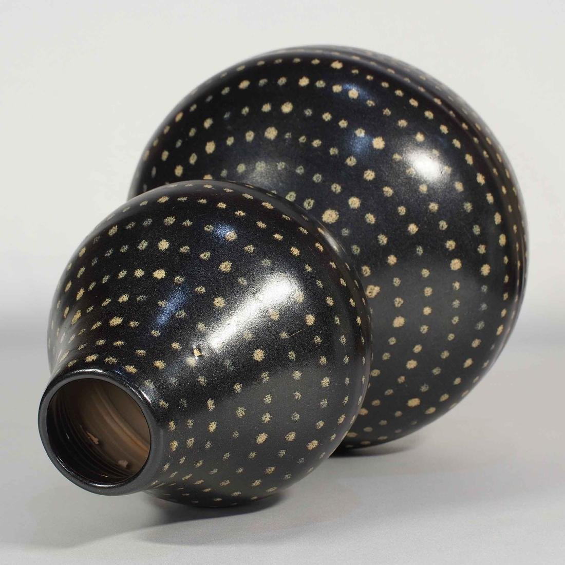 Jizhou Large Double-Gourd with Dotted Design, Song - 6