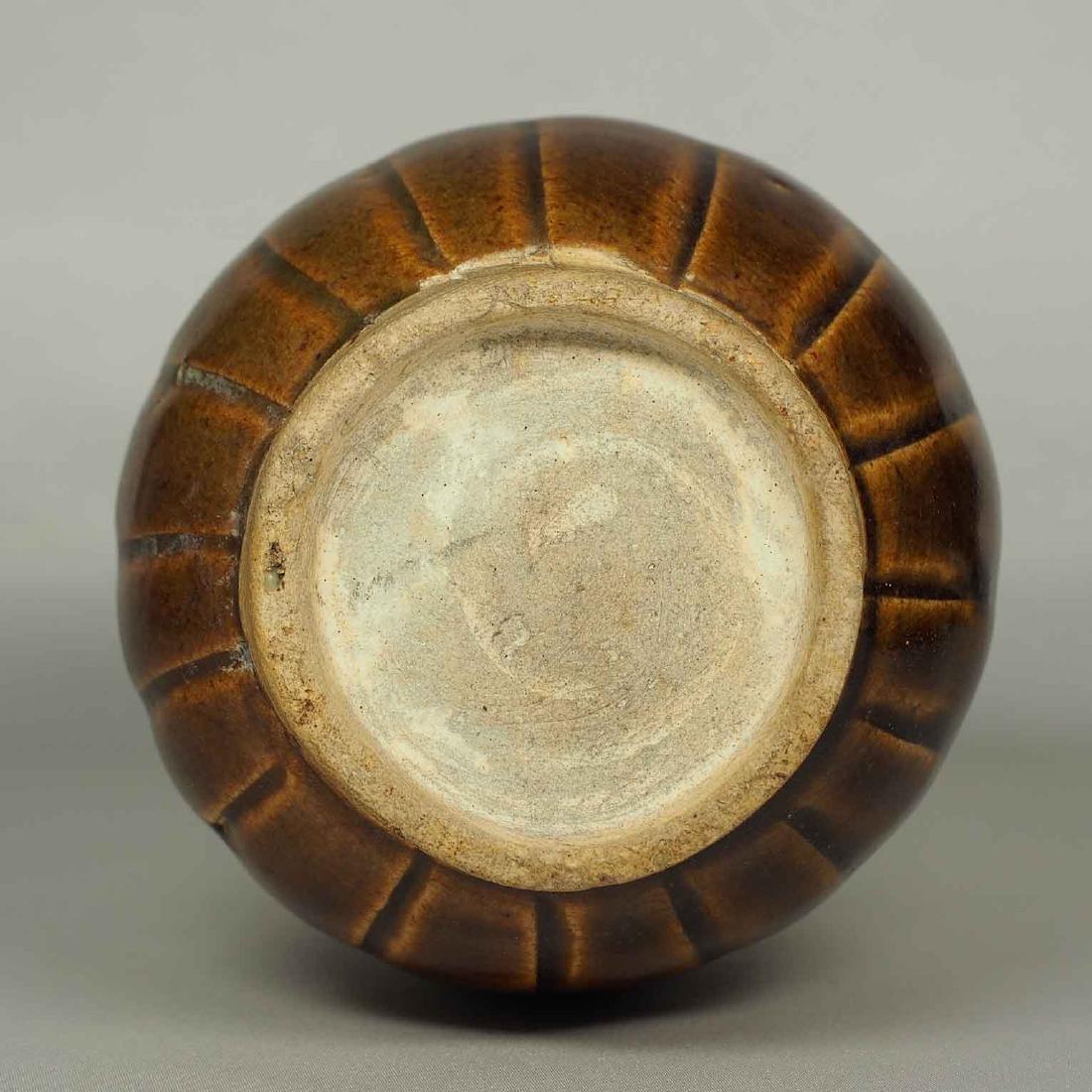 Brown Glaze Jarlet with Two Lugs, Sukhothai - 10