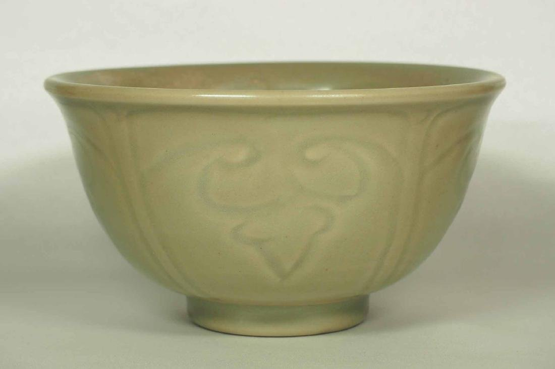 Longquan Bowl with Incised Design, Ming Dynasty - 3