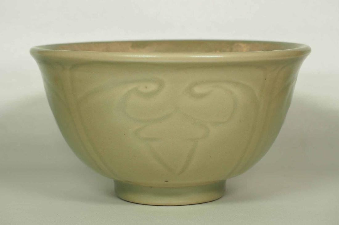 Longquan Bowl with Incised Design, Ming Dynasty - 4